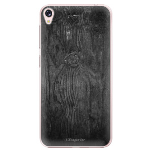 Plastové pouzdro iSaprio black Wood 13 na mobil Asus ZenFone Live ZB501KL