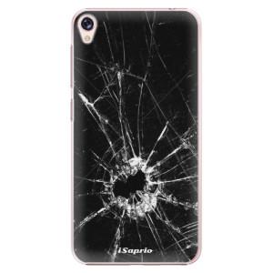 Plastové pouzdro iSaprio Broken Glass 10 na mobil Asus ZenFone Live ZB501KL