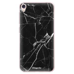 Plastové pouzdro iSaprio black Marble 18 na mobil Asus ZenFone Live ZB501KL