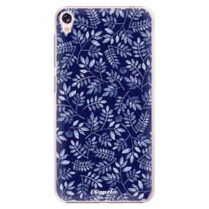 Plastové pouzdro iSaprio Blue Leaves 05 na mobil Asus ZenFone Live ZB501KL