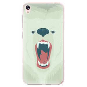 Plastové pouzdro iSaprio Angry Bear na mobil Asus ZenFone Live ZB501KL