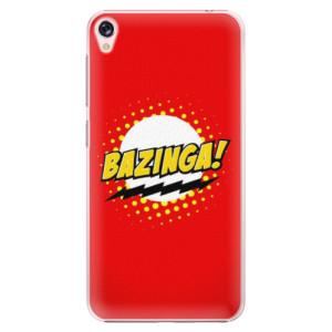 Plastové pouzdro iSaprio Bazinga 01 na mobil Asus ZenFone Live ZB501KL