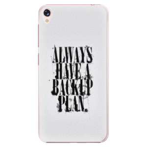 Plastové pouzdro iSaprio Backup Plan na mobil Asus ZenFone Live ZB501KL