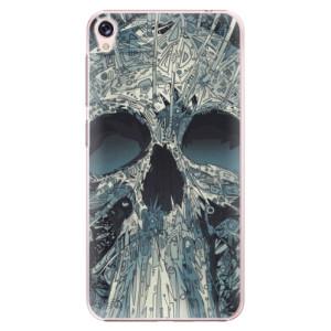 Plastové pouzdro iSaprio Abstract Skull na mobil Asus ZenFone Live ZB501KL