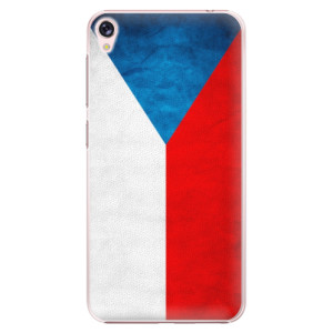 Plastové pouzdro iSaprio Česká Vlajka na mobil Asus ZenFone Live ZB501KL