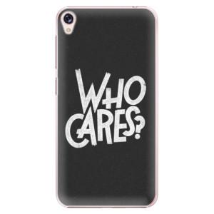 Plastové pouzdro iSaprio Who Cares na mobil Asus ZenFone Live ZB501KL