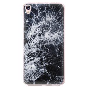 Plastové pouzdro iSaprio Praskliny na mobil Asus ZenFone Live ZB501KL