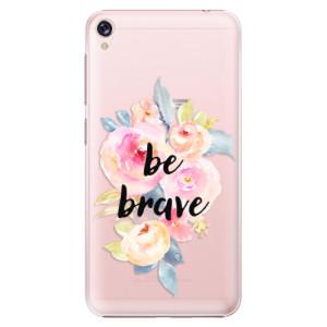 Plastové pouzdro iSaprio Be Brave na mobil Asus ZenFone Live ZB501KL