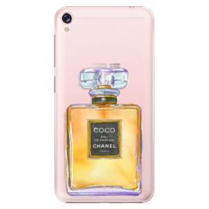 Plastové pouzdro iSaprio Chanel Gold na mobil Asus ZenFone Live ZB501KL