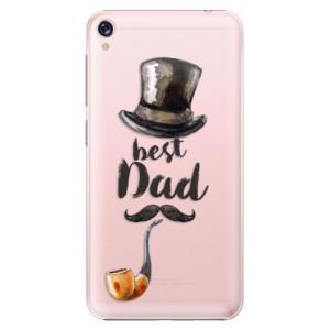 Plastové pouzdro iSaprio Best Dad na mobil Asus ZenFone Live ZB501KL