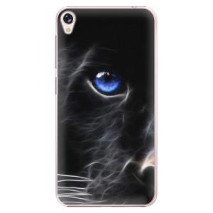 Plastové pouzdro iSaprio black Puma na mobil Asus ZenFone Live ZB501KL