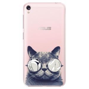 Plastové pouzdro iSaprio Šílená Číča 01 na mobil Asus ZenFone Live ZB501KL