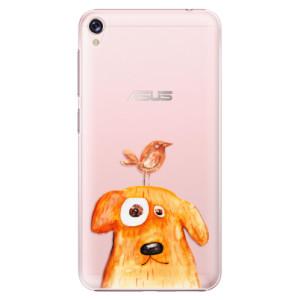 Plastové pouzdro iSaprio Pejsek a Ptáček na mobil Asus ZenFone Live ZB501KL