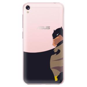 Plastové pouzdro iSaprio BaT Comics na mobil Asus ZenFone Live ZB501KL