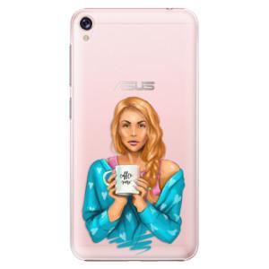 Plastové pouzdro iSaprio Coffee Now Zrzka na mobil Asus ZenFone Live ZB501KL