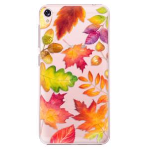Plastové pouzdro iSaprio Autumn Leaves 01 na mobil Asus ZenFone Live ZB501KL