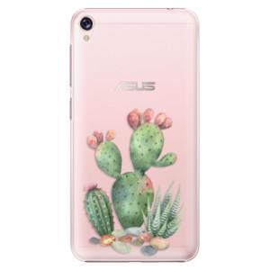 Plastové pouzdro iSaprio Kaktusy 01 na mobil Asus ZenFone Live ZB501KL