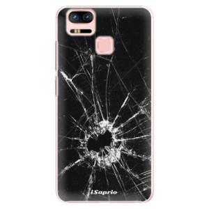 Plastové pouzdro iSaprio Broken Glass 10 na mobil Asus Zenfone 3 Zoom ZE553KL