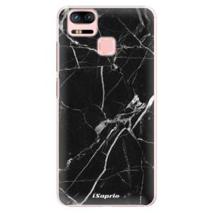 Plastové pouzdro iSaprio black Marble 18 na mobil Asus Zenfone 3 Zoom ZE553KL