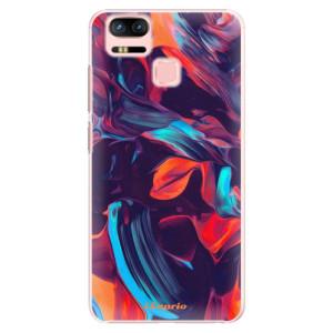 Plastové pouzdro iSaprio Barevný mramor 19 na mobil Asus Zenfone 3 Zoom ZE553KL