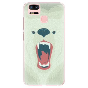Plastové pouzdro iSaprio Angry Bear na mobil Asus Zenfone 3 Zoom ZE553KL