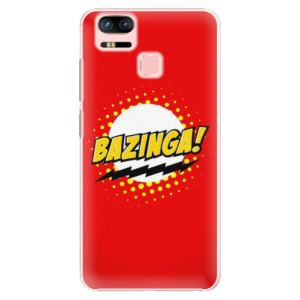 Plastové pouzdro iSaprio Bazinga 01 na mobil Asus Zenfone 3 Zoom ZE553KL