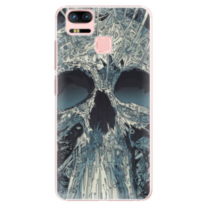 Plastové pouzdro iSaprio Abstract Skull na mobil Asus Zenfone 3 Zoom ZE553KL