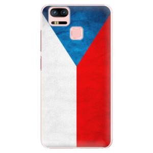 Plastové pouzdro iSaprio Česká Vlajka na mobil Asus Zenfone 3 Zoom ZE553KL
