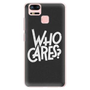 Plastové pouzdro iSaprio Who Cares na mobil Asus Zenfone 3 Zoom ZE553KL