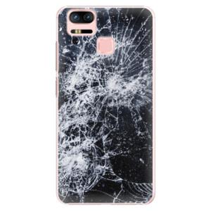 Plastové pouzdro iSaprio Praskliny na mobil Asus Zenfone 3 Zoom ZE553KL
