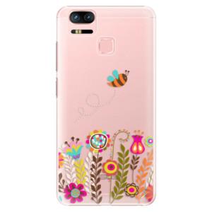 Plastové pouzdro iSaprio Bee 01 na mobil Asus Zenfone 3 Zoom ZE553KL