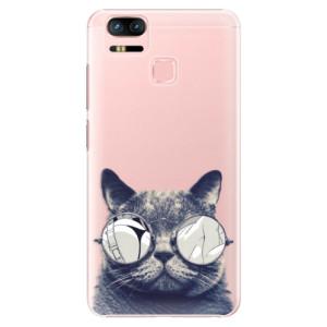 Plastové pouzdro iSaprio Šílená Číča 01 na mobil Asus Zenfone 3 Zoom ZE553KL