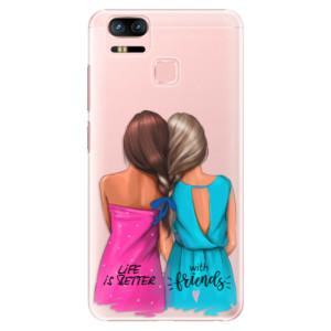 Plastové pouzdro iSaprio Best Friends na mobil Asus Zenfone 3 Zoom ZE553KL