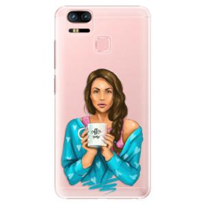 Plastové pouzdro iSaprio Coffee Now Brunetka na mobil Asus Zenfone 3 Zoom ZE553KL