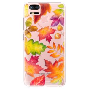 Plastové pouzdro iSaprio Autumn Leaves 01 na mobil Asus Zenfone 3 Zoom ZE553KL