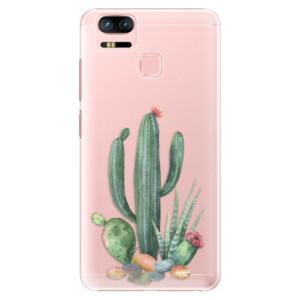 Plastové pouzdro iSaprio Kaktusy 02 na mobil Asus Zenfone 3 Zoom ZE553KL
