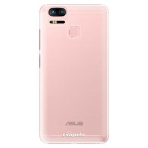 Plastové pouzdro iSaprio 4Pure mléčné bez potisku na mobil Asus Zenfone 3 Zoom ZE553KL