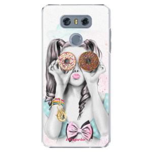Plastové pouzdro iSaprio Donutky Očiska 10 na mobil LG G6 (H870)