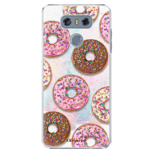 Plastové pouzdro iSaprio Donutky Všude 11 na mobil LG G6 (H870)