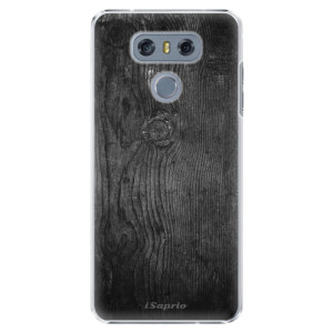 Plastové pouzdro iSaprio black Wood 13 na mobil LG G6 (H870)