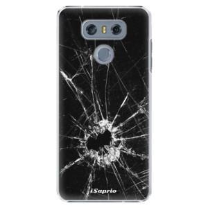 Plastové pouzdro iSaprio Broken Glass 10 na mobil LG G6 (H870)