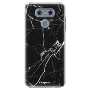 Plastové pouzdro iSaprio black Marble 18 na mobil LG G6 (H870)