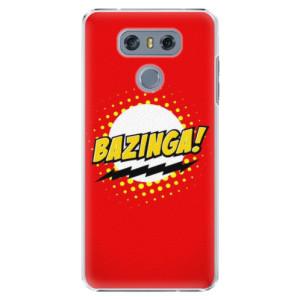 Plastové pouzdro iSaprio Bazinga 01 na mobil LG G6 (H870)