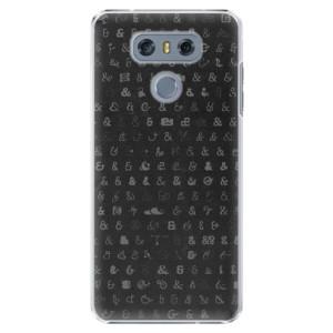 Plastové pouzdro iSaprio Ampersand 01 na mobil LG G6 (H870)