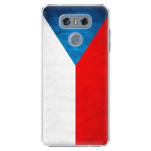 Plastové pouzdro iSaprio Česká Vlajka na mobil LG G6 (H870)