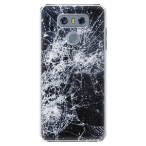 Plastové pouzdro iSaprio Praskliny na mobil LG G6 (H870)