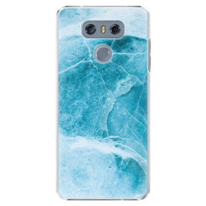 Plastové pouzdro iSaprio Blue Marble na mobil LG G6 (H870)