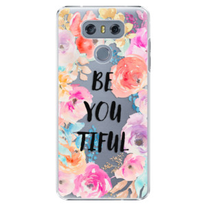 Plastové pouzdro iSaprio BeYouTiful na mobil LG G6 (H870)