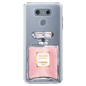 Plastové pouzdro iSaprio Chanel Rose na mobil LG G6 (H870)