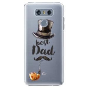 Plastové pouzdro iSaprio Best Dad na mobil LG G6 (H870)